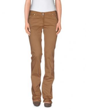 Повседневные брюки L'AIR DE RIEN. Цвет: верблюжий
