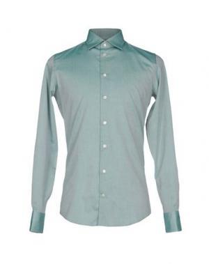 Pубашка RICHARD JAMES. Цвет: зеленый-милитари