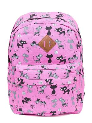 Рюкзак NUAGES. Цвет: розовый