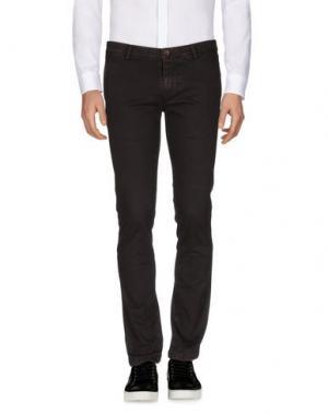 Повседневные брюки QUINTESSENCE. Цвет: баклажанный