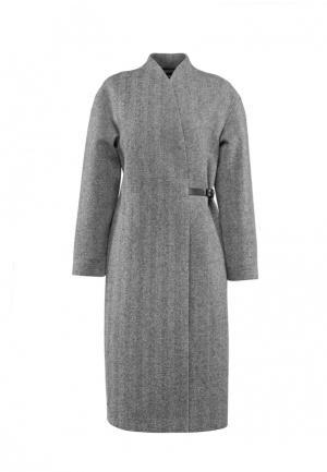 Пальто Asya Malbershtein. Цвет: серый