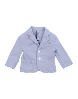 Пиджак BIKKEMBERGS. Цвет: небесно-голубой