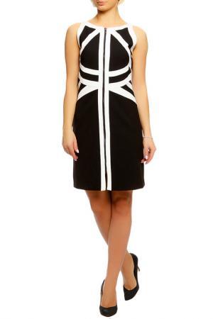 Платье Sportstaff. Цвет: черно-белый