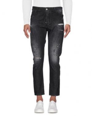Джинсовые брюки IMB I'M BRIAN. Цвет: стальной серый