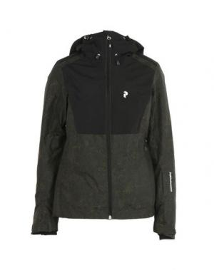 Куртка PEAK PERFORMANCE. Цвет: зеленый-милитари
