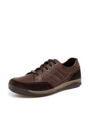 Кроссовки THOMAS MUNZ. Цвет: коричневый