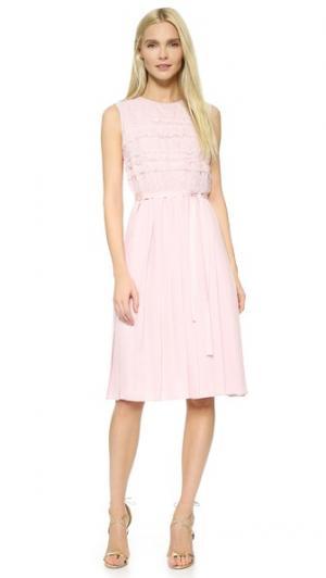 Шелковое платье Sophie Hallette Leur Logette. Цвет: розовый