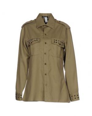 Pубашка ODI ET AMO. Цвет: зеленый-милитари