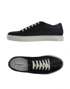 Низкие кеды и кроссовки EXIBIT. Цвет: черный