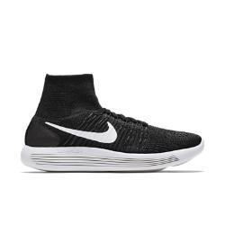 Женские беговые кроссовки  LunarEpic Flyknit Nike. Цвет: черный