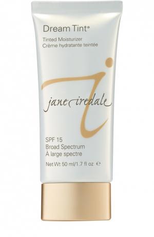 Увлажняющий крем с тональным эффектом, оттенок Персиковый jane iredale. Цвет: бесцветный