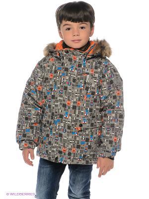 Куртка Kamik. Цвет: серый, белый, синий