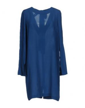 Короткое платье GARAGE NOUVEAU. Цвет: синий