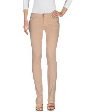 Джинсовые брюки PARASUCO CULT. Цвет: песочный