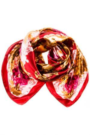 Платок Vita Pelle. Цвет: бордовый, бежевый