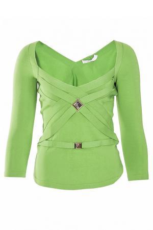 Пуловер Versace Collection. Цвет: зеленый