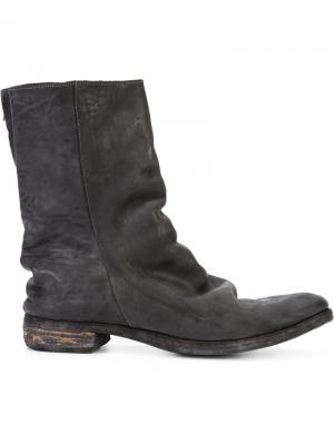 Ботинки ST3 A Diciannoveventitre. Цвет: чёрный