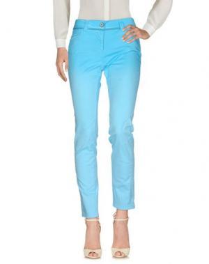 Повседневные брюки DANIELA DALLA VALLE ELISA CAVALETTI. Цвет: бирюзовый