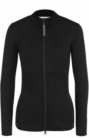 Спортивная куртка на молнии Adidas by Stella McCartney. Цвет: черный