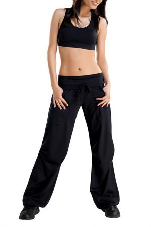 Спортивные брюки GWINNER. Цвет: черный