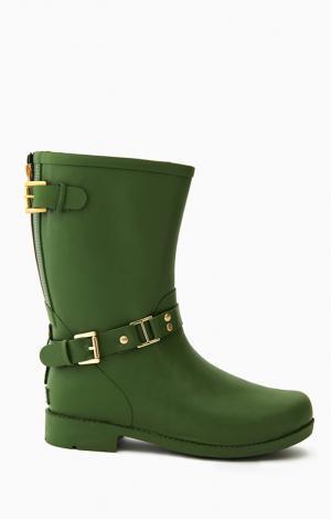 Сапоги резиновые Зеленые Boomboots