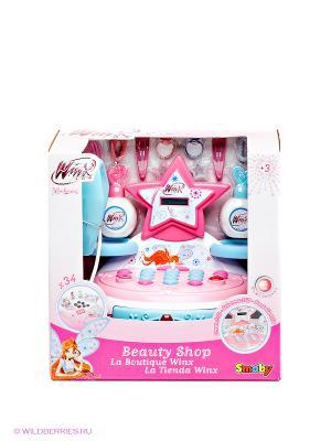 Мини-магазин Winx Smoby. Цвет: голубой, розовый