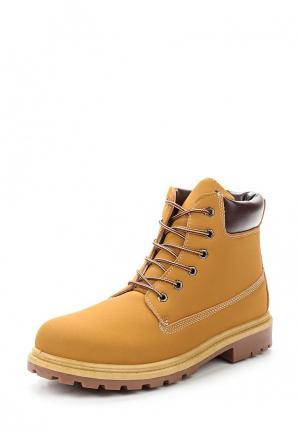 Ботинки Norway Originals. Цвет: желтый