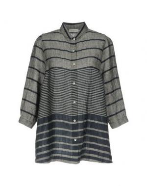 Pубашка ROSSO35. Цвет: серый