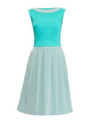 Платье Sarafan. Цвет: бирюзовый