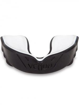 Капа боксерская Venum Challenger Black/Ice ( универсальная, формуется под любой размер челюсти). Цвет: черный, белый