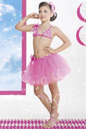 Юбка пляжная, ободок Arina Festivita by Lora Grig. Цвет: розовый