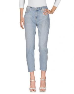 Джинсовые брюки PEDRO DEL HIERRO. Цвет: синий