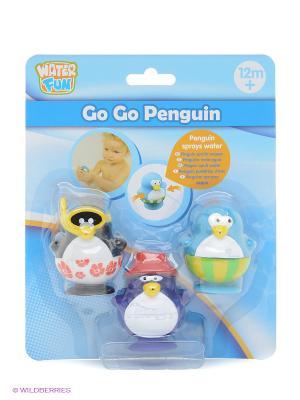 Набор для ванны Пингвины 2 Toy Target. Цвет: голубой
