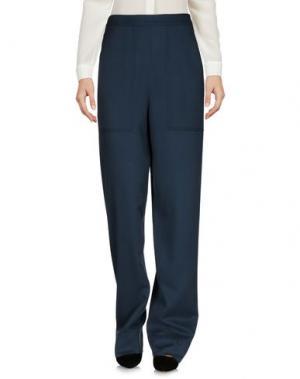 Повседневные брюки LEMAIRE. Цвет: грифельно-синий