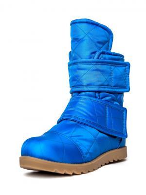 Ботинки женские AZ-ART. Цвет: синий