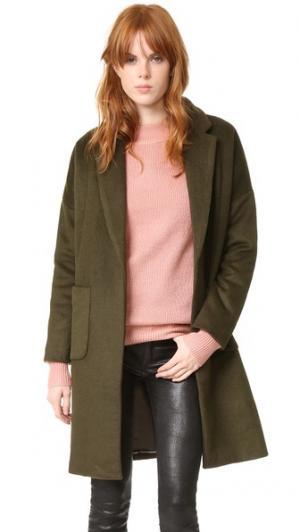 Пальто Sarah dRA. Цвет: кадетский зеленый