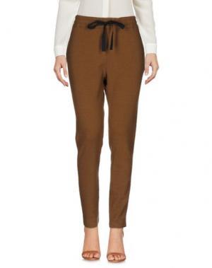 Повседневные брюки ZHELDA. Цвет: коричневый