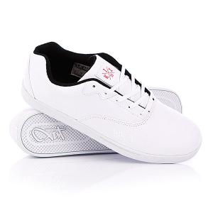 Кеды кроссовки низкие  Cali White/White/Black K1X. Цвет: белый
