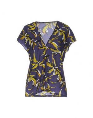 Блузка LAURA URBINATI. Цвет: фиолетовый
