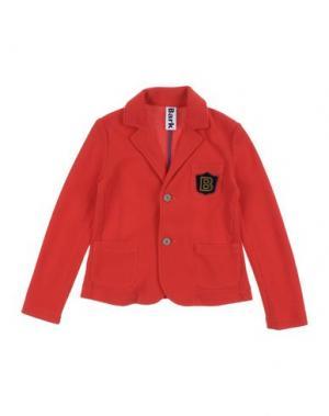 Пиджак BARK. Цвет: красный