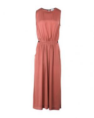 Длинное платье ATTIC AND BARN. Цвет: пастельно-розовый