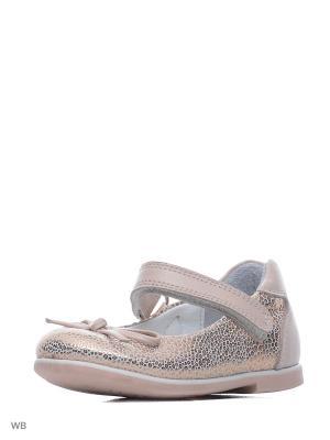 Туфли Vitacci. Цвет: бронзовый