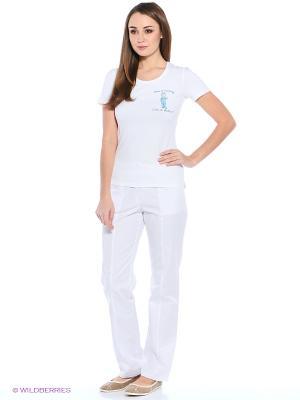 Футболка медицинская Med Fashion Lab. Цвет: белый