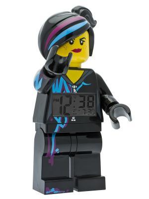Будильник LEGO MOVIE, минифигура Lucy. Цвет: черный, голубой, лиловый, желтый