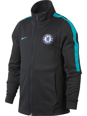 Куртка CFC Y NSW JKT FRAN AUT CUP Nike. Цвет: антрацитовый