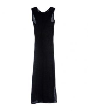 Длинное платье BARBON. Цвет: черный