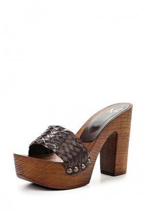 Сабо Versace 19.69. Цвет: коричневый