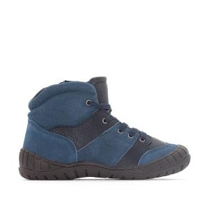 Ботинки на удобной подошве 26-35 La Redoute Collections. Цвет: синий морской