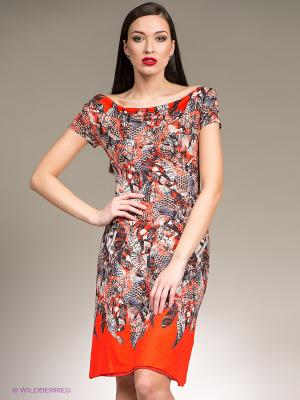 Платье Isabel de Pedro. Цвет: красный, темно-синий