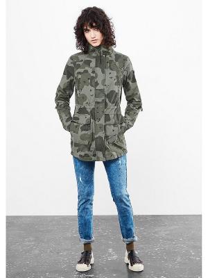 Куртка S.OLIVER. Цвет: темно-зеленый